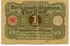 ALLEMAGNE GERMANY 1 MARK 1920 état voir scan 203