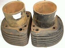 1956-59 AJS Matchless G11 600cc 7 fin pair cylinders R