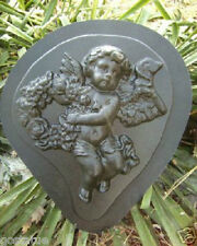 Gostatue MOLD teardrop angel concrete plaster mold mould Looking right