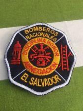 EL SALVADOR  Feuerwehr orig.Fire Brigade Stoffabzeichen Ärmelabzeichen