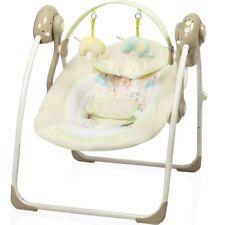 Babyschaukel vollautomatisch 230V Baby Wippe Schaukel Wiege Liege + (Spielbogen)