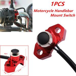 1x Motorcycle Handlebar Mount Switch Conrol Power Headlight Fog Light Waterproof