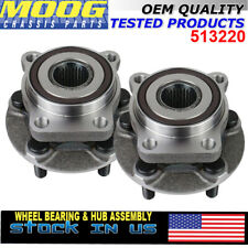 MOOG Front Wheel Bearing Hub Set  2 for 2005-2014 Subaru Outback Legacy w/ ABS