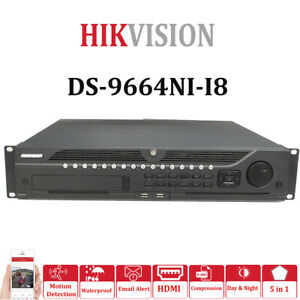 **Clearance** Hikvision 64 CHANNEL 12MP NVR DS-9664NI-I8