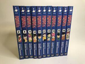 Lot of 11 Ranma 1/2 Manga English Action Rumiko Takahashi Paperback