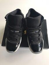5ead55575b75 Air Jordan 11 Retro BG Space Jam Sneakers In Black concord White Kids Sz 5Y