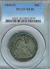 1849-O Seated Liberty Half Dollar : PCGS XF40