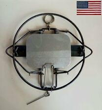 "6"" Animal Trap For Rabbit Vole Skunk Fox Coyote Skunk Muskrat Steel Spring"