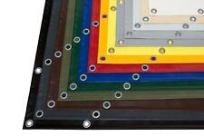 LKW Plane PVC Plane mit Ösen verschiedene Farben OHNE SAUM (610g/m²)
