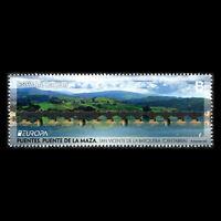 "Spain 2018 - EUROPA Stamp ""Bridges"" Architecture - MNH"