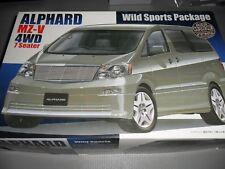 Kit TOYOTA ALPHARD  4WD WILD SPORTS PACKAGE FUJIMI 1/24