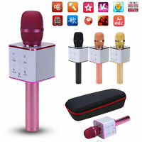 Q7 Wireless Bluetooth Karaoke Microphone Music Player Audio Speaker for Home KTV