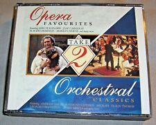 TAKE 2 Opera Favourites/Orchestral Classics DOUBLE CD promo 1992 US album NM/EX+
