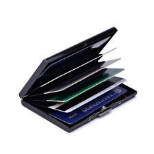 Men Stainless Steel Card Holder Clip Cash Slim Pocket Wallet Credit ID Card Case