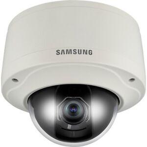 Samsung SNV-3082 4CIF WDR Vandal-Resistant PoE Network Dome Camera 2.8~11mm Lens