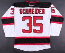 Cory Schneider Signed Devils Jersey (Beckett)  New Jersey Starting Goal Tender