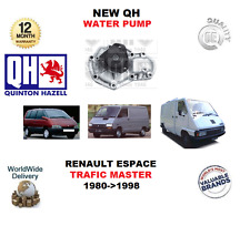 FOR RENAULT ESPACE TRAFIC MASTER 2.0 2.2 4X4 1980->1998 NEW QH WATER PUMP