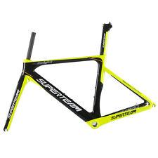 T700 Fibra de Carbono Bicicleta de Carretera Marco Superteam Marco de bicicleta De Carbono conjunto Ud Brillante