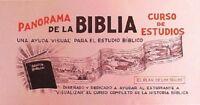 Panorama de la Biblia. Curso de Estudio Spanish Edition Paperback November 1972