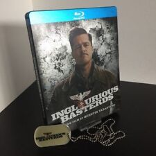 Inglourious Basterds Steelbook Blu-Ray Future Shop Exclusive CA Release + Dogtag