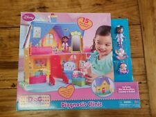 Doc McStuffins Diagnosis Clinic Playset 2014 New Sealed OOP Lambie Hallie HTF 15