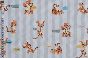 Tigger Fun Fabric - Winnie the Pooh, 100% Cotton, Curtains & Cushions