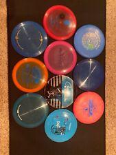 Used Disc Golf Lot Of 10 Dynamic Discmania DGA Streamline Weatside