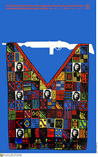 Political cuban POSTER.CHE GUEVARA in Indian Poncho.10.Revolution Art Design