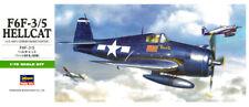 Hasegawa 00241 B11 1/72 Scale Model Aircraft Kit U.S Grumman F6F-3/5 Hellcat