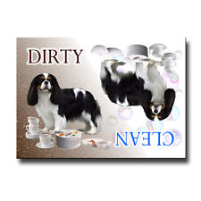 CAVALIER KING CHARLES SPANIEL Clean/Dirty DISHWASHER MAGNET No1