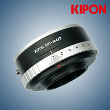 New Kipon Adapter with Aperture for Contax N1 Lens to Olympus Micro 4/3 camera