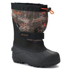 Columbia Powderbug Plus II Print Boys' Waterproof Winter Boots sz 11 NWB