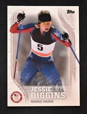 2018 Topps US Winter Olympics Base #us-11 Jessie Diggins