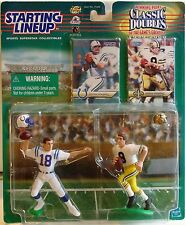PEYTON MANNING Colts & ARCHIE New Or Saints Starting Lineup 1999 Classic Doubles