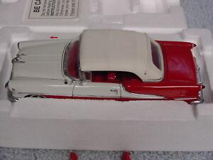 DANBURY MINT 1/24 1955 FORD OLDSMOBILE SUPER EIGHTY EIGHT CONVERTIBLE CAR NIB
