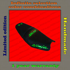 Design Seat Cover KAWASAKI NINJA ZX-14 (ZZR1400) 06-11 black+lime-gloss 001