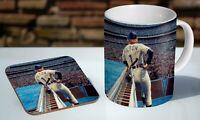 Elton John Live On Stage 11oz Tea / Coffee Mug Coaster Gift Set