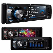 "PIONEER DVH-885AVBT 3.5"" COLOR DISPLAY CD DVD MP3 USB IPHONE BLUETOOTH RECEIVER"