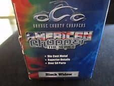 OCC American Choppers The Series - Black Widow- 1:1/8 scale NIB