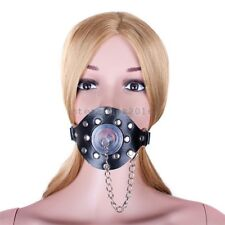 Japan Silicone Stuffed lackable Restraint Open Studs Mouth Plug Gag Harness Fun