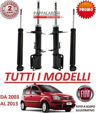 4 AMMORTIZZATORI ANTERIORI + POSTERIORI FIAT PANDA (169)  NATURAL POWER METANO
