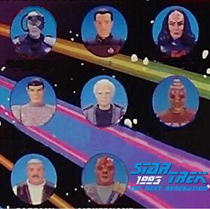 1993 Aliens & Guests Loose Figures, Bases & Accs. Star Trek Next Generat Playmat