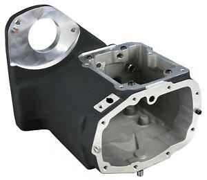 Ultima Black Finish 5/6-Speed Transmission Case w/Speedo Hole for Harley Softail
