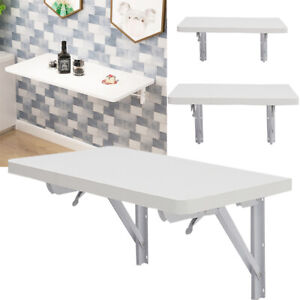 Wall-mounted Table Folded Shelf Foldable Desk Wall Rack for Balcony Living Room