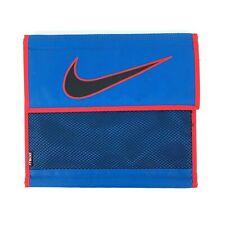 Vintage Nike Mead Big Swoosh Blue Red Embroidered School Pocket Folder 1995