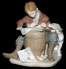 Retired Beautiful Lladro Figurine Love Letters Norman Rockwell Limited Edition