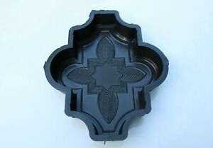 Plastic Mold/Form To Make Beautiful Concrete Paver Stones For Patio And Garden