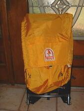 Hillary II External Frame Bright Yellow Backpack