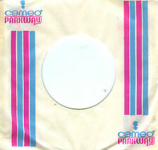 10 original CAMEO PARKWAY COMPANY SLEEVES NORTHERN SOUL 45 PINK BLUE