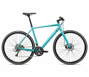 Orbea Vector 30 Large Size Blue 8 Speed Lightweight City Bike. Disc Brakes NEW